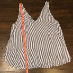 Old Navy Tops - 🍂FALL STRIPED TANK